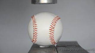 Video Baseball vs Hydraulic Press - Home run download MP3, 3GP, MP4, WEBM, AVI, FLV Agustus 2017