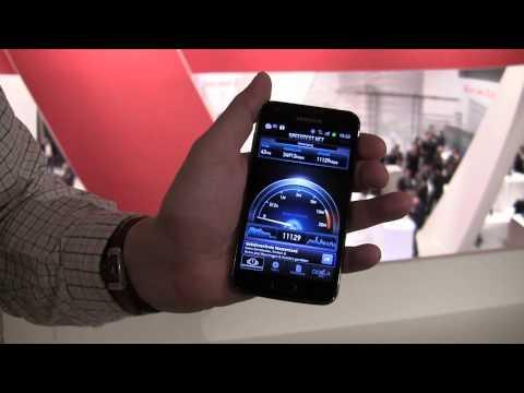 Samsung Galaxy S2 LTE Speedtest im Vodafone Netzwerk