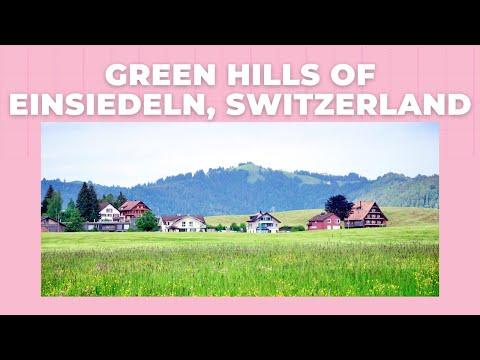 Green Hills Of Einsiedeln, Switzerland