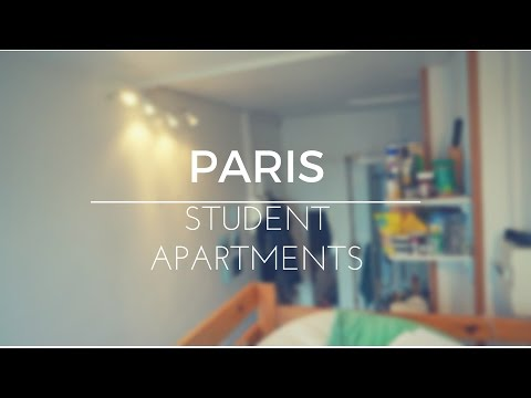 PARIS STUDENT 8m2 APARTMENT TOUR & HOW TO PAY LESS