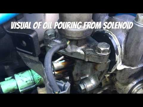 EXTREME OIL LEAK FIXED! B-Series VTec Solenoid Seal Replacement