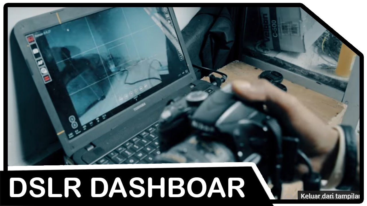How to use a Laptop as External Monitor for DSLR (DSLR DASHBOARD)