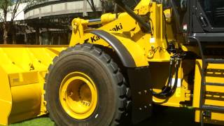 Video still for Gary Bell Introduces the new Kawasaki Z7 Wheel Loaders