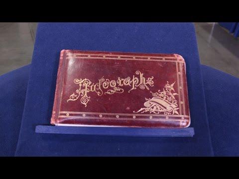 1888 Mormon Polygamist's Prison Autograph Book | Web Appraisal | Salt Lake City
