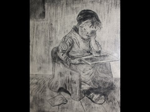 Vincent van Gogh drawing