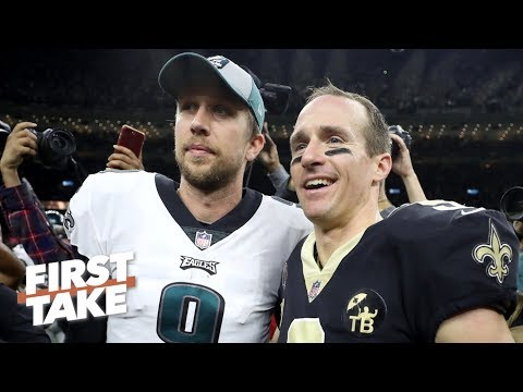 Has Nick Foles' magic run its course after the Eagles' loss to the Saints? | First Take