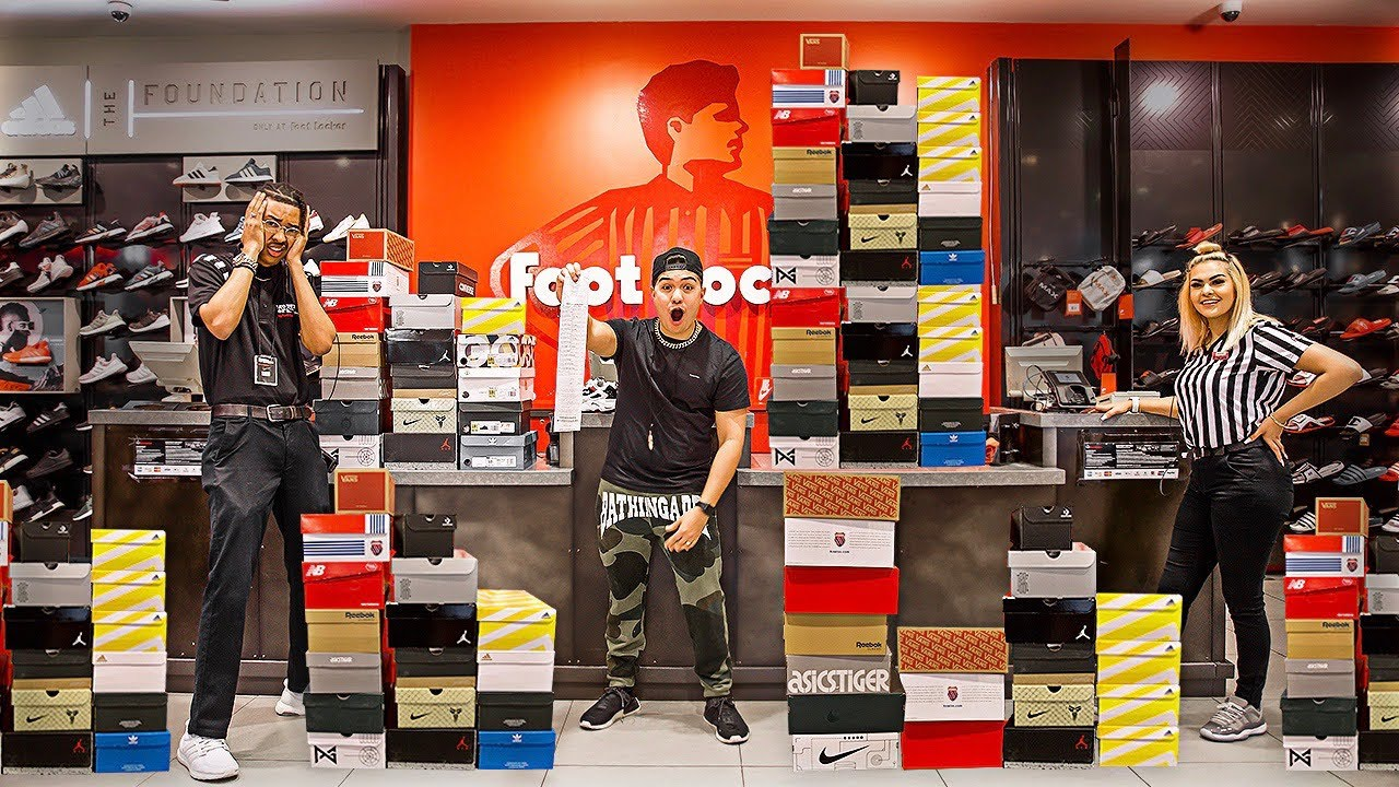 Buying EVERY Shoe From Footlocker