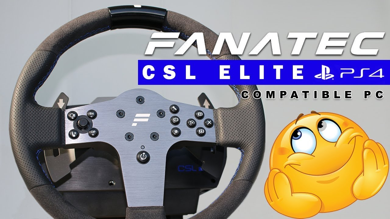 fanatec csl elite ps4 pc essai partie 1 2 youtube. Black Bedroom Furniture Sets. Home Design Ideas
