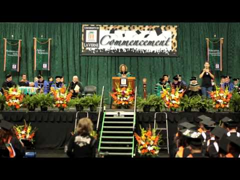 University of La Verne 2013 Commencement President Devorah Lieberman