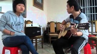 Tớ xin lỗi - Cover by Giày vải ft Cu kiến (Guitar Diễn Châu)