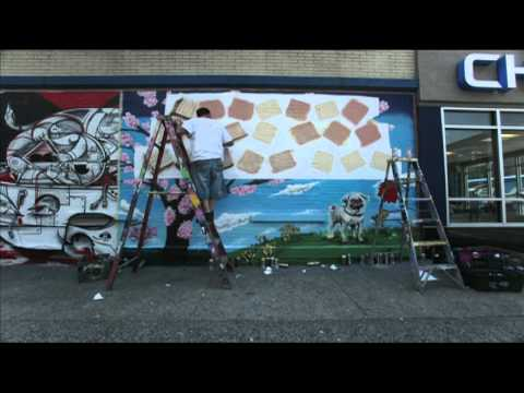 The World's Most Creative Marriage Proposal? A Graffiti Mural Time Lapse.