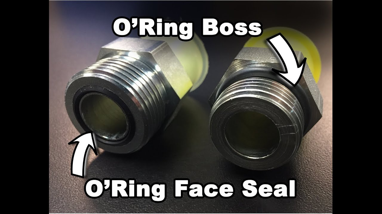 Raceworks Male AN Flare To O-Ring Port AN-6 Flare To O-Ring Boss AN-6