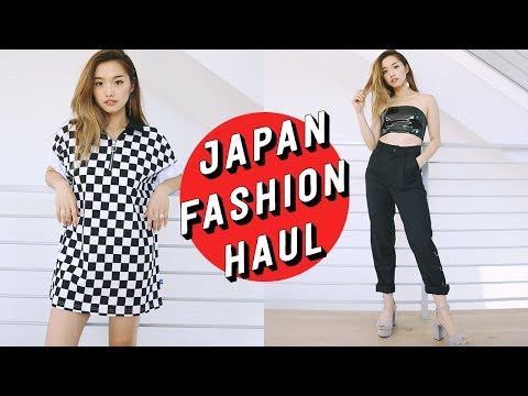 🇯🇵 Japan Fashion Summer Haul 🇯🇵