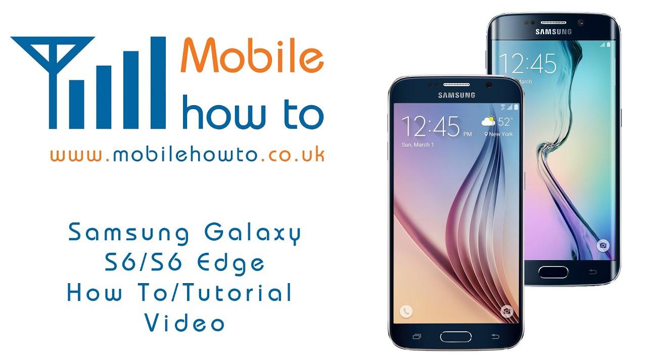 How To Turn On/Off NFC - Samsung Galaxy S6/S6 Edge