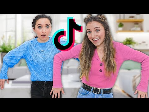 Recreating Viral TikToks With my Twin!