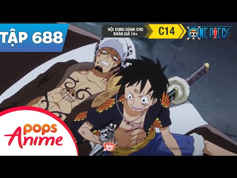 One Piece Tập 688 - Tình Thế Khó Khăn. Luffy Không May Rơi Vào Bẫy! - Đảo Hải Tặc