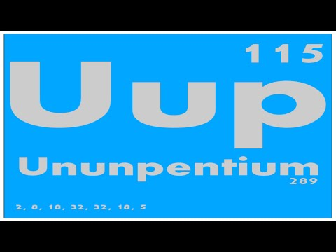 STUDY GUIDE: 115 Ununpentium | Periodic Table of Elements