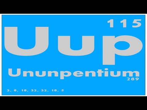 STUDY GUIDE: 115 Ununpentium   Periodic Table of Elements