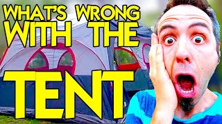 WHAT'S WRONG WITH THE CAMPING TENT? - Family Tent Camping - Life in Louisiana - [Lafayette, LA]