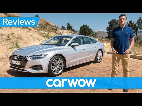 New Audi A7 2018 review – see why it's the coolest and most high-tech coupe ever