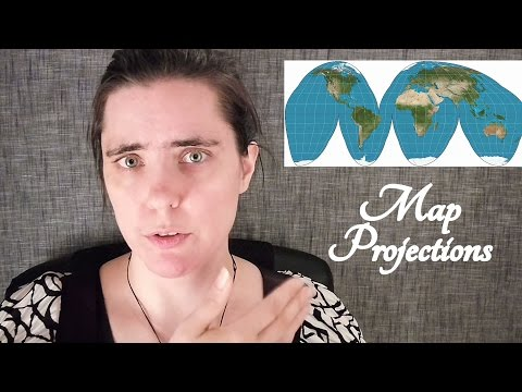🌐 ASMR Map Projections Intro 🌐 (Why don't I own a world map?) ☀365 Days of ASMR☀