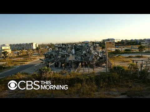 """one-year-after-hurricane-michael,-a-""""new-normal""""-for-residents-in-florida"""