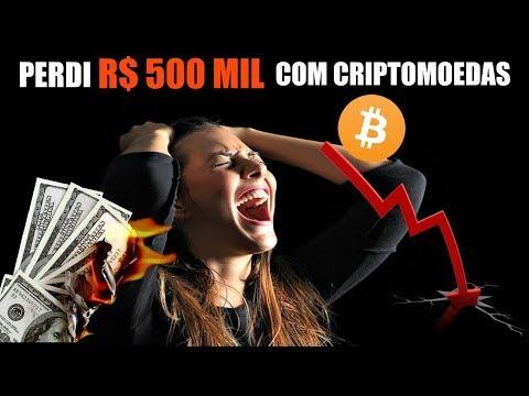 Perdi R$ 500 mil investindo em Criptomoedas! Não cometa o mesmo erro.