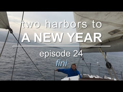 Sailing Vessel Triteia - Sailing from Catalina Island on New Years Day with a Dolphin escort