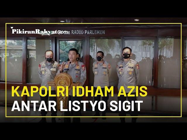 Kapolri Idham Azis Datangi Gedung DPR RI Antar Listyo Sigit Prabowo Jalani Fit Proper and Test