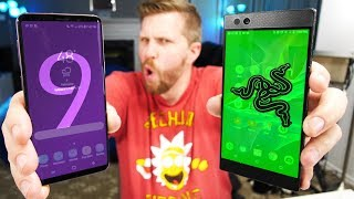 Galaxy S9 vs Razer Phone! Can S9 Beat the Gaming King?
