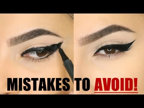 EYELINER MISTAKES YOU SHOULD AVOID