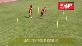 XLR8 Agility Pole Drills - Instruction DVD Preview