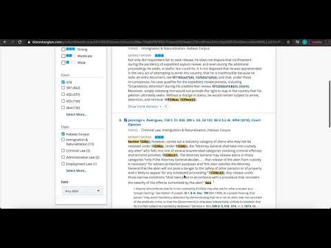 How to Use Bloomberg Law SmartCode