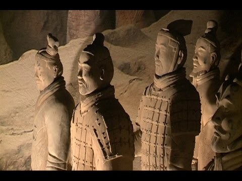 Exposición guerreros de terracota, en Bilbao