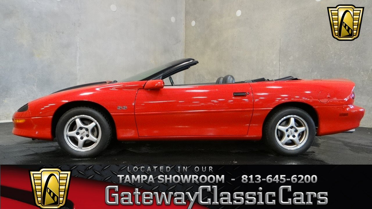 1996 chevrolet camaro ss convertible youtube. Black Bedroom Furniture Sets. Home Design Ideas