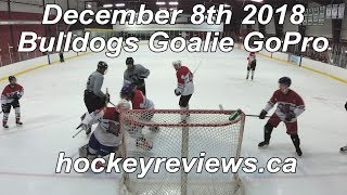 December 8th 2018 Bulldogs Hockey Goalie GoPro