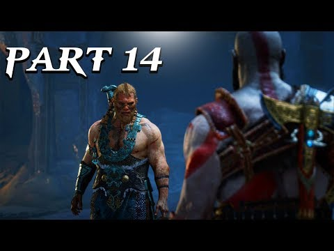 GOD OF WAR Gameplay Walkthrough Part 14 -WE FIGHT THE SONS OF THOR! (PS4 PRO)