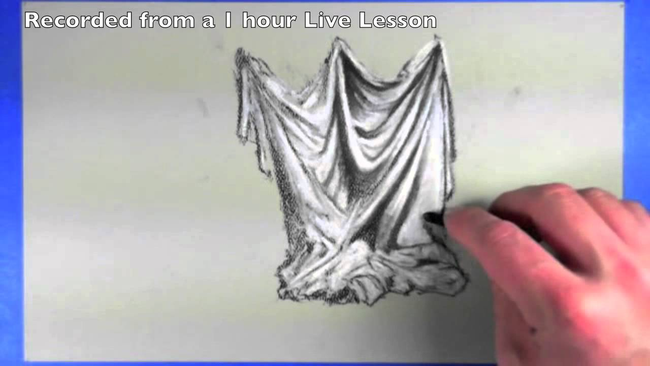 Drawing Drapery How To Draw Cloth Youtube