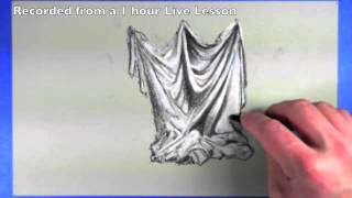 Drawing Drapery - How to Draw Cloth