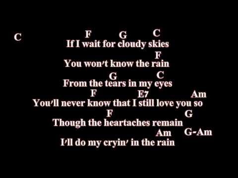 Crying In The Rain + Lyrics/Tabs