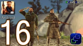 Brothers In Arms 3: Sons of War Android Walkthrough - Part 16 - Event: (Easy) Skyrocket: Stage 1