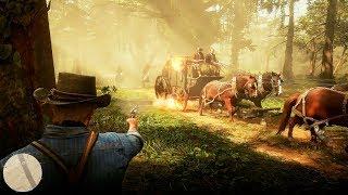 Red Dead Redemption 2 — Русский геймплейный трейлер игры #2 (4K, 2018)