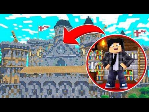 Minecraft Infinito #29 CONSTRUÍ UM JARDIM GIGANTE NO MEU CASTELO
