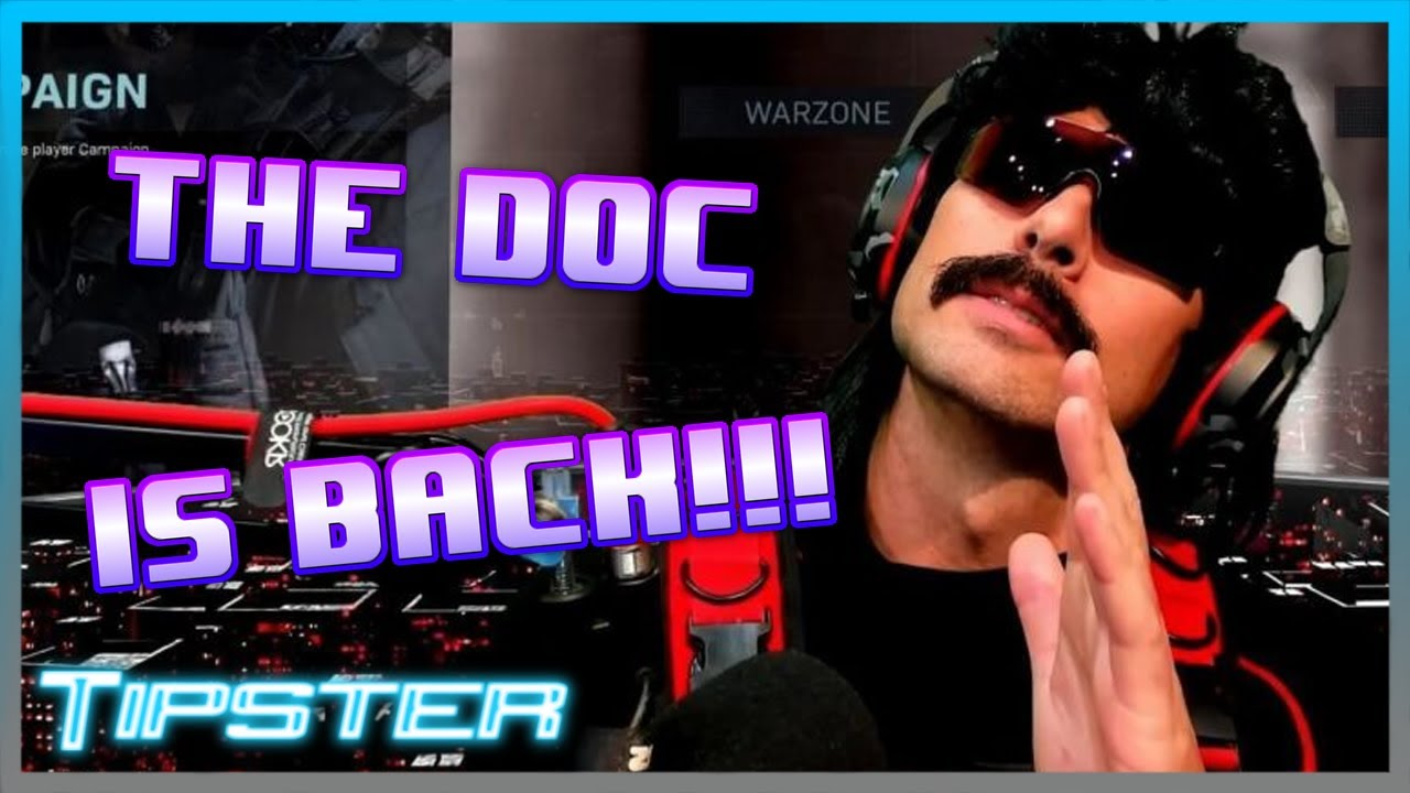 DR. DISRESPECT IS BACK!!!