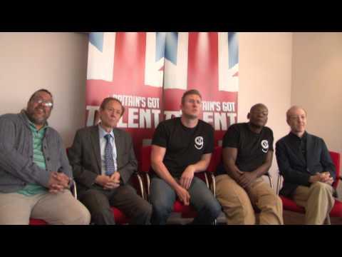 Old Men Grooving on Britain's Got Talent 2015