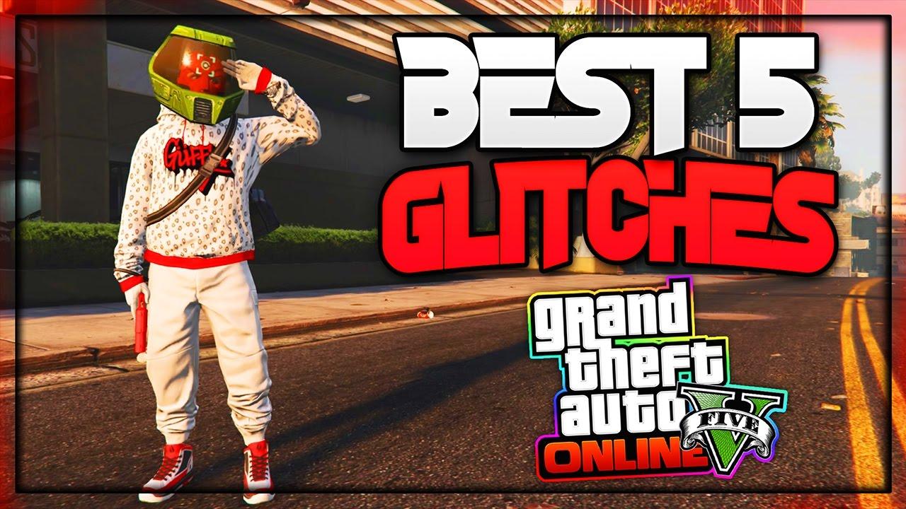 GTA 5 // PS4 // GLITCH - YouTube