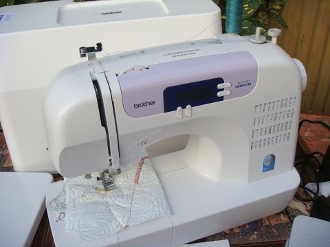 Brother   Electric Sewing machine Model  BC - 2100  **** SEE VIDEO BELOW *****