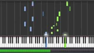 Yiruma - River Flows in you (Piano tutorial Synthesia) 100% speed thumbnail
