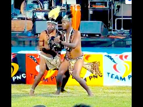 PNG Comedy Skit - LIVE TEAM PNG CELEBRATION CHM SUPERSOUND CONCERT 2015