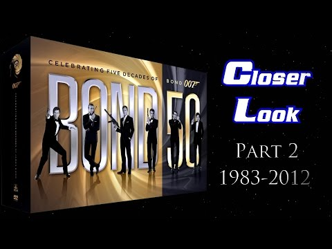 Bond 50 Blu-ray Set Closer Look - Part 2: 1983-2012